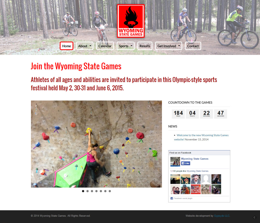 Wyoming State Games screenshot